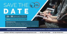 Africa Tourism Partners (ATP) To Step Up Its Africa Travel & Tourism Masterclasses with business-to-Business Meetings in early 2019.