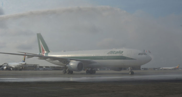 Alitalia returns to South Africa after a 16-year absence